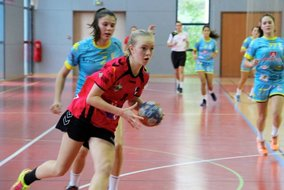 Match amical de l'équipe de France Féminine junior contre l'UPABHB